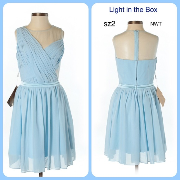 light in the box Dresses & Skirts - Light in the Box Formal Cocktail Wedding Dress 2